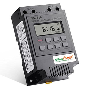 Programmable Timer Switch for Machinery 12V DC 30A