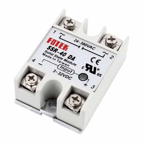 Solid State Relay SSR-25 SSR-40 24V-380V 25A