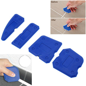Silicone Caulking Tool 4Pcs Kit