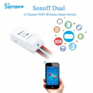SONOFF® Dual Channel WIFI Wireless Remote Control Switch