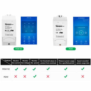 SONOFF® POW R2 16A WIFI Smart Home Switch