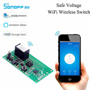 SONOFF SV DC 5V-24V WIFI Wireless Switch Module