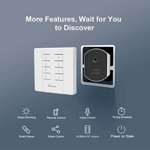 Sonoff D1 Smart Dimmer 433Mhz RF Controlled & Wi-Fi Switch
