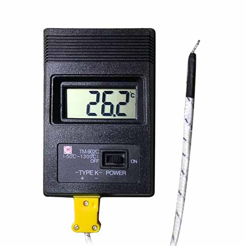 TM-902C (-50C to 1300C) High Temperature Meter + Probe