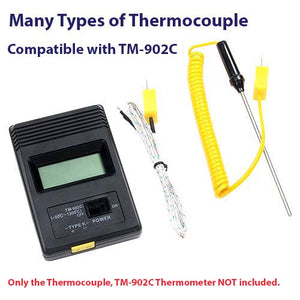 K-Type Thermocouple Probe Sensor for Thermometers