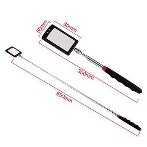 Telescopic Inspection Mirror With LED Light