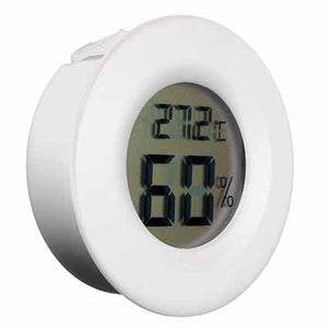 Mini Round RH Humidity & Temperature Meter