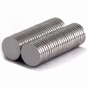 Neodymium Magnet 8mm x 1mm Small Round Disc