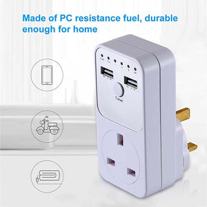 Countdown Timer Socket Switch Choose from 1-10Hrs