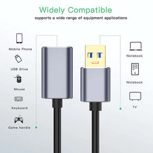 USB 3.0 Cable Extension Extender Male To Female