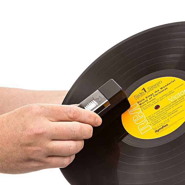 Vinyl Record Cleaning Kit Velvet Brush