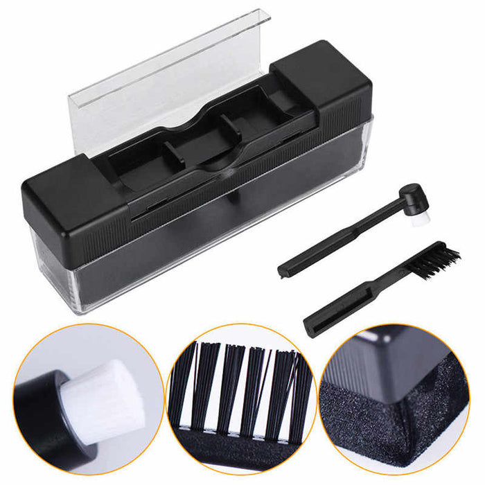 Record Cleaning Brush Set Stylus Cleaner 3 in 1