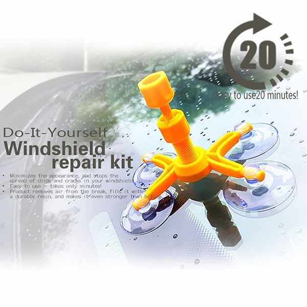 Windscreen Crack Repair Kit