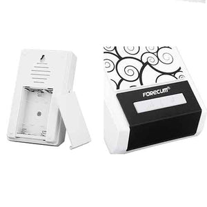 Forecum Battery Operated Wireless Doorbell with 2 Receivers