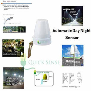 Day/Nights Auto ON & OFF Photocell Switch (Adjustable Light)