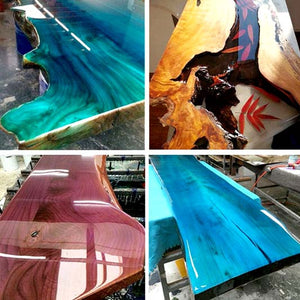 Clear Epoxy Resin 3:1 Mixing, UV Resistant & Bubble Free