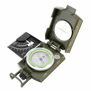 Military Style Compass with Inclinometer