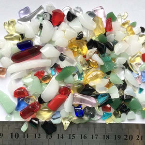 Mixed Colore Quartz Crystal Stone Pebbles