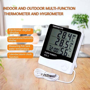 Indoor & Outdoor Thermometer Hygrometer (Wired)