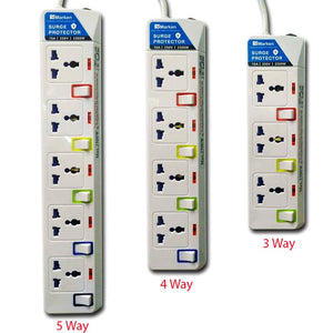 Marken Protected Power Board, Universal Plugs