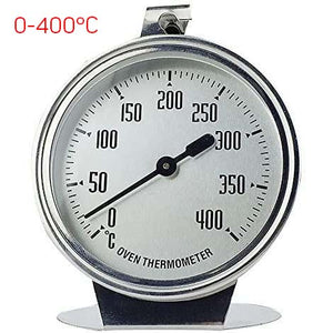 Stainless Steel Thermometer For Baking Oven 0-400℃