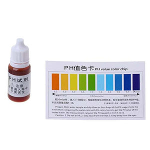Water pH & Chlorine Testing Liquid Kit