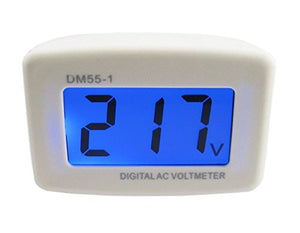 Quality Plug-in Digital Voltage Meter/Tester AC 80-300v