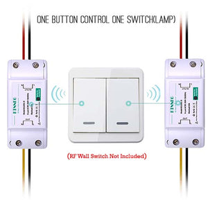 Remote Control Light Switch 433Mhz RF Receiver