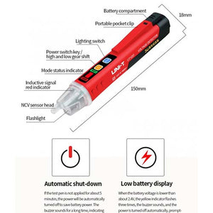 UNI-T UT12D Non-Contact AC Voltage Tester