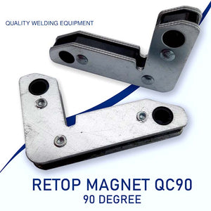 Welding Magnet Holding Clamp 90 Degree 2Pcs