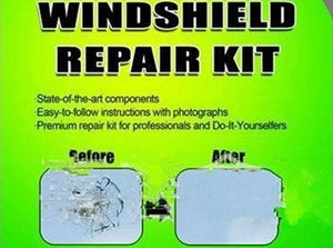 Windscreen Chip & Crack Repair Kit