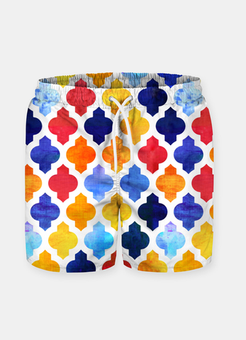 Men's Shorts Arabic Pattern Shorts