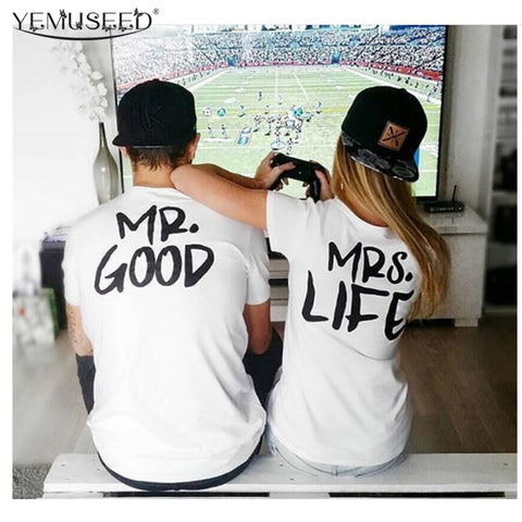 Mr. And Mrs. Couple Clothes Tshirt