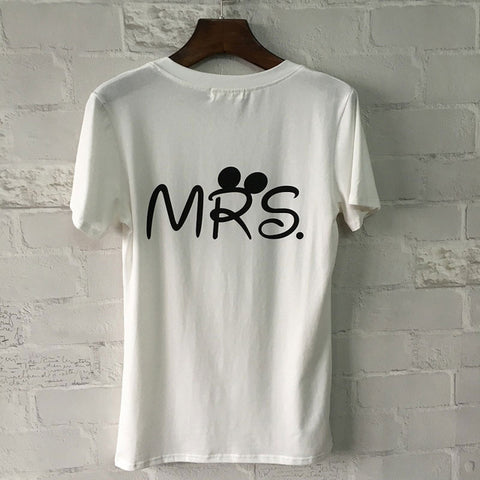 Fashion Couple T shirt For Lovers