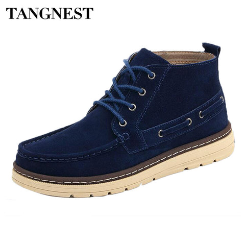 British Style Men Ankle Boots
