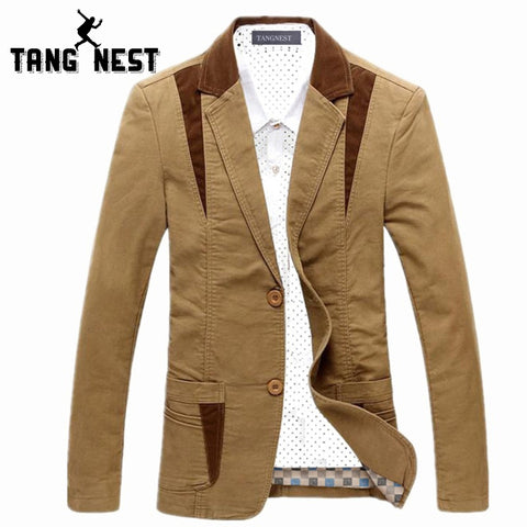 Men Casual Suit Slim
