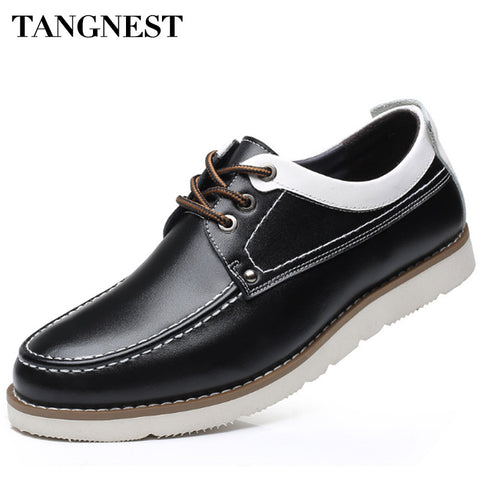 Split Leather Casual Shoes Man