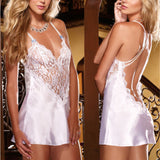 Lingerie Fashion Patchwork Nightdress