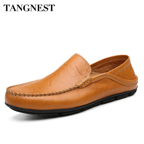 Men Casual Shoes Genuine Leather