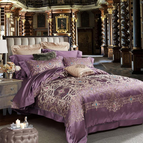 New Luxury Mulberry Silk Comforter Set