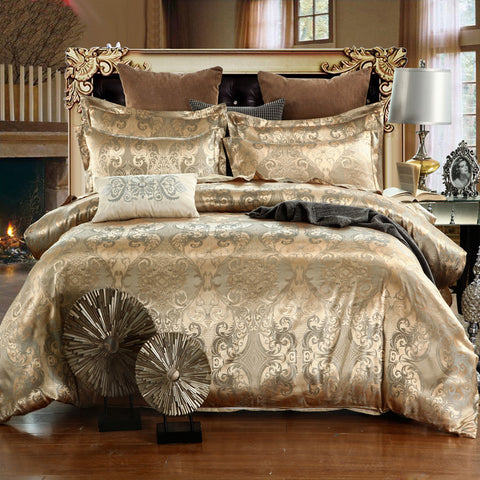 Luxury Bedding Sets Jacquard Queen/King