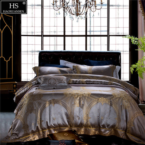HS King Size Mulberry Silk Bedding Sets