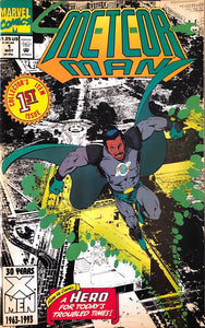 Meteor Man Collector's Item 1st Issue Comic Book