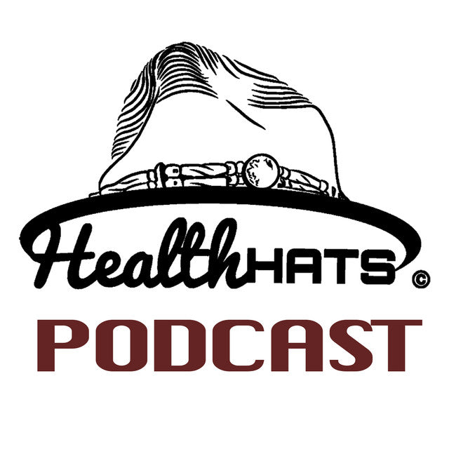 Health Hats Podcast Logo