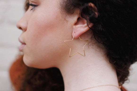 Va-Va-Vega Earrings - Gold