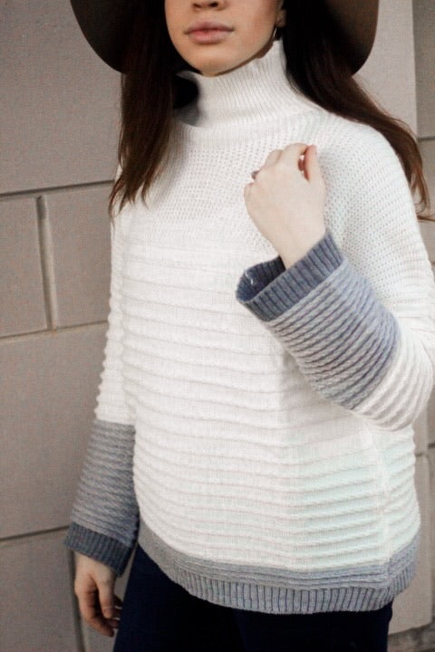Trifecta Textured Sweater