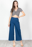 Courtney Denim Crop