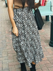 Anastasia Animal Print Wrap Skirt