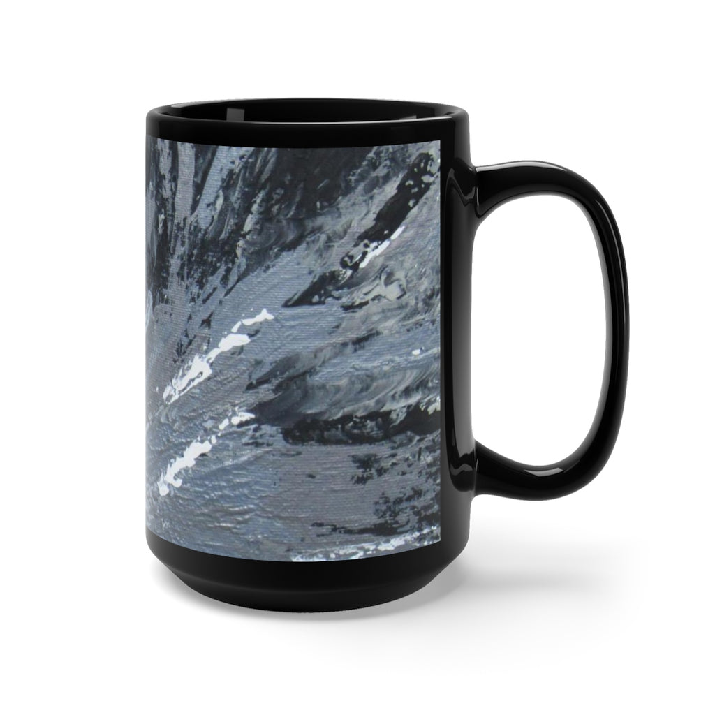 Coffee Mug feat. Abstract Art-Peyton