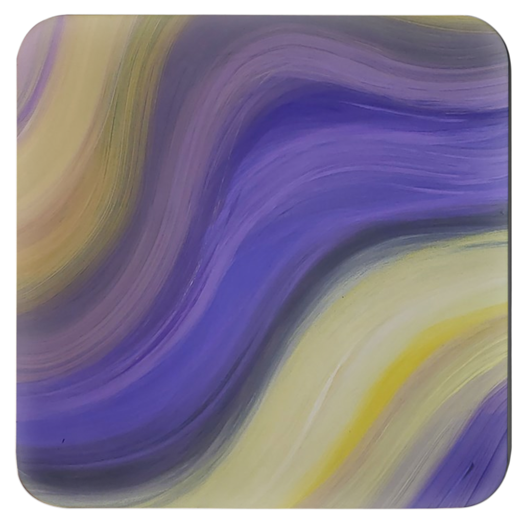 Drink Coasters Set feat. Abstract Art-Gabriell